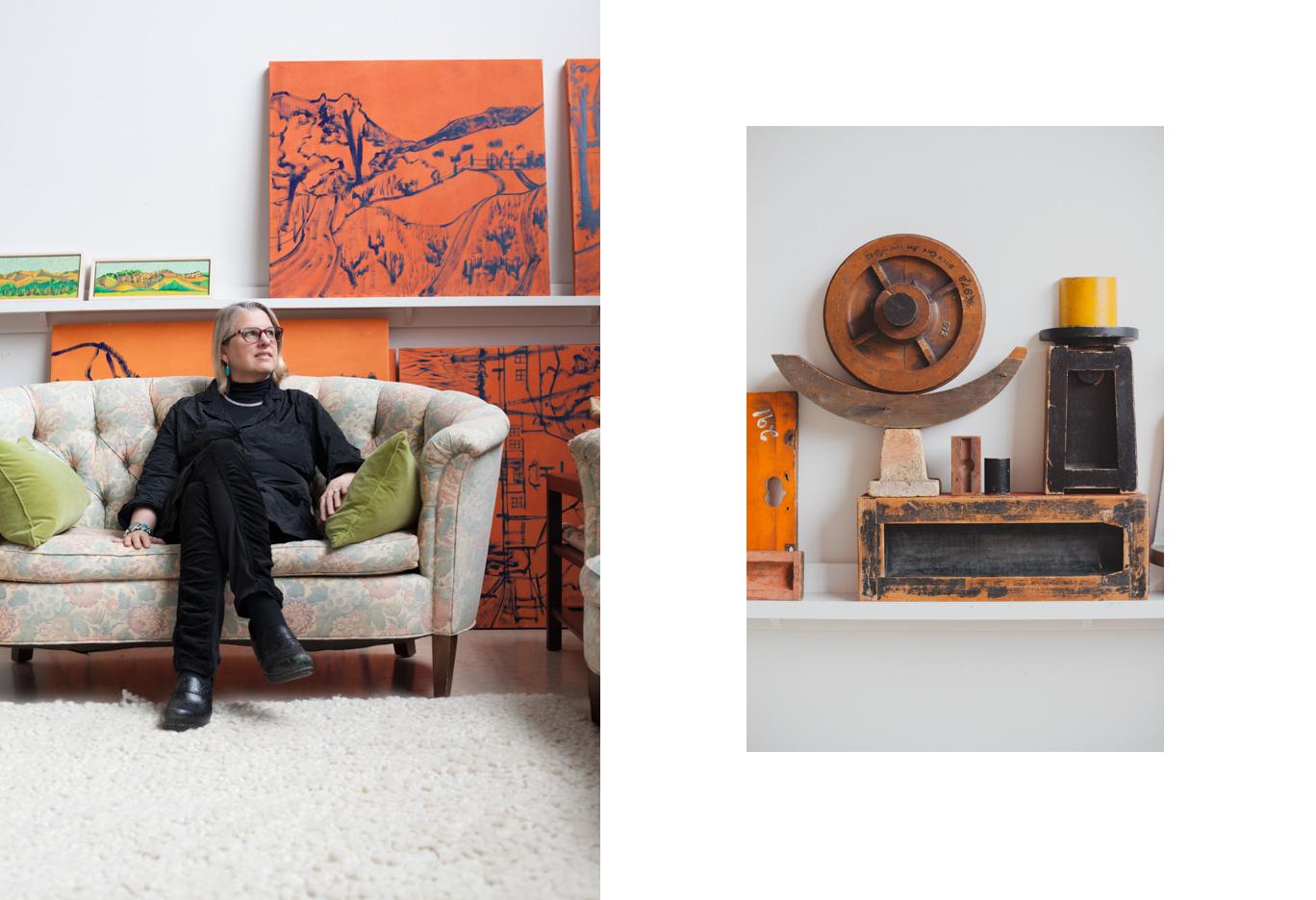 Katherine McKenna, Artist, for Prattfolio Magazine, Spring 2016