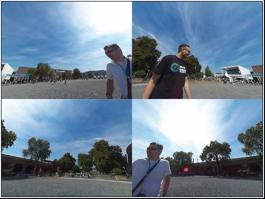 Quad Mode from SP360