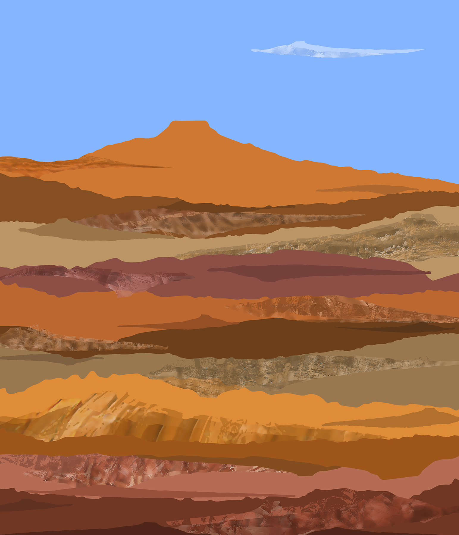 Mesa Around With Georgia O'Keeffe   2016
