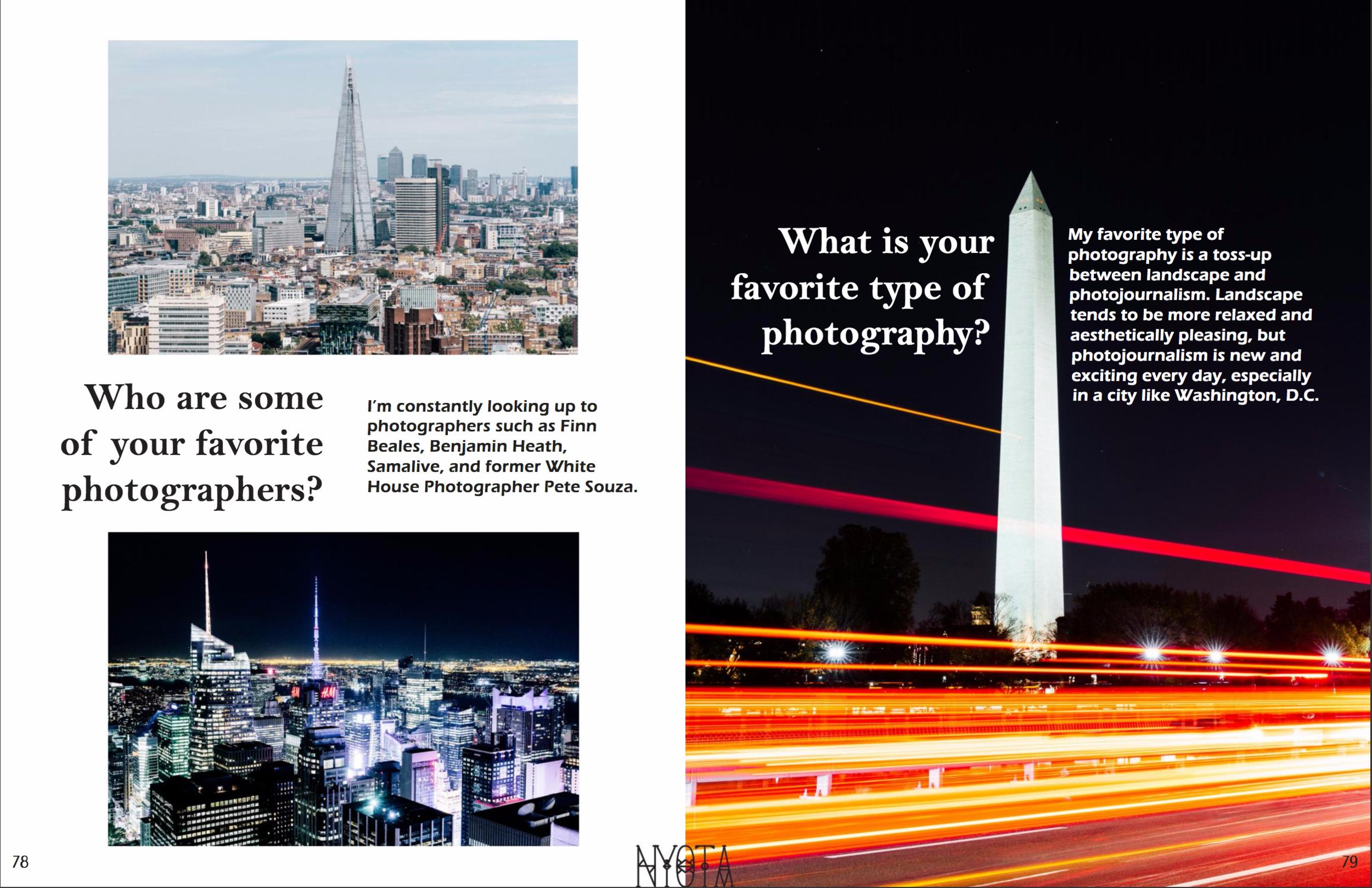 Nyota Magazine Feature