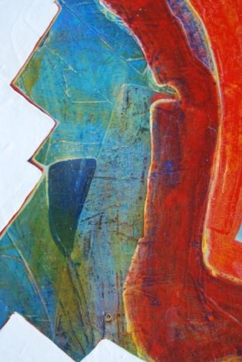 Artist Sophia Batsford Tise _Painting Detail II