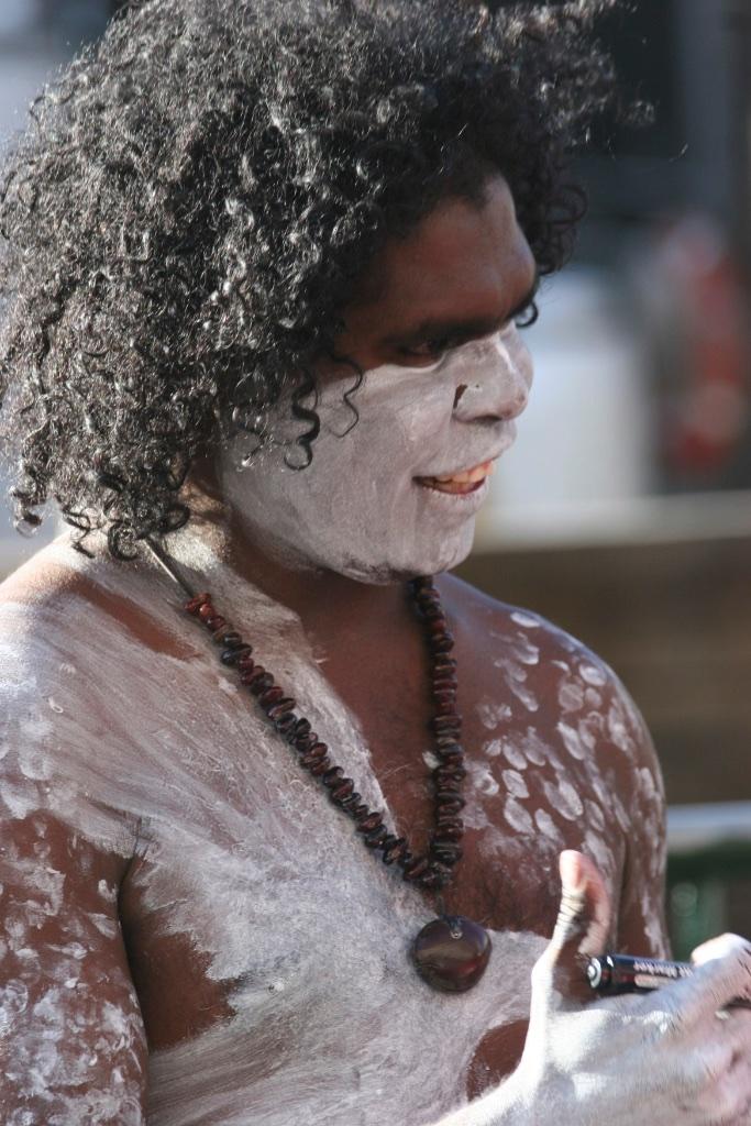 Aborigine, Australia.
