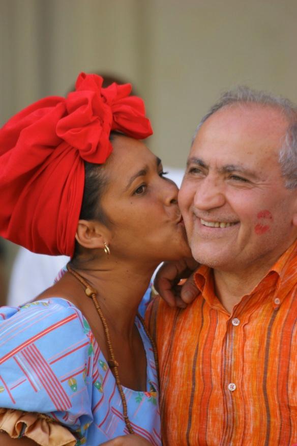 Kisses for sale. Havana, Cuba.