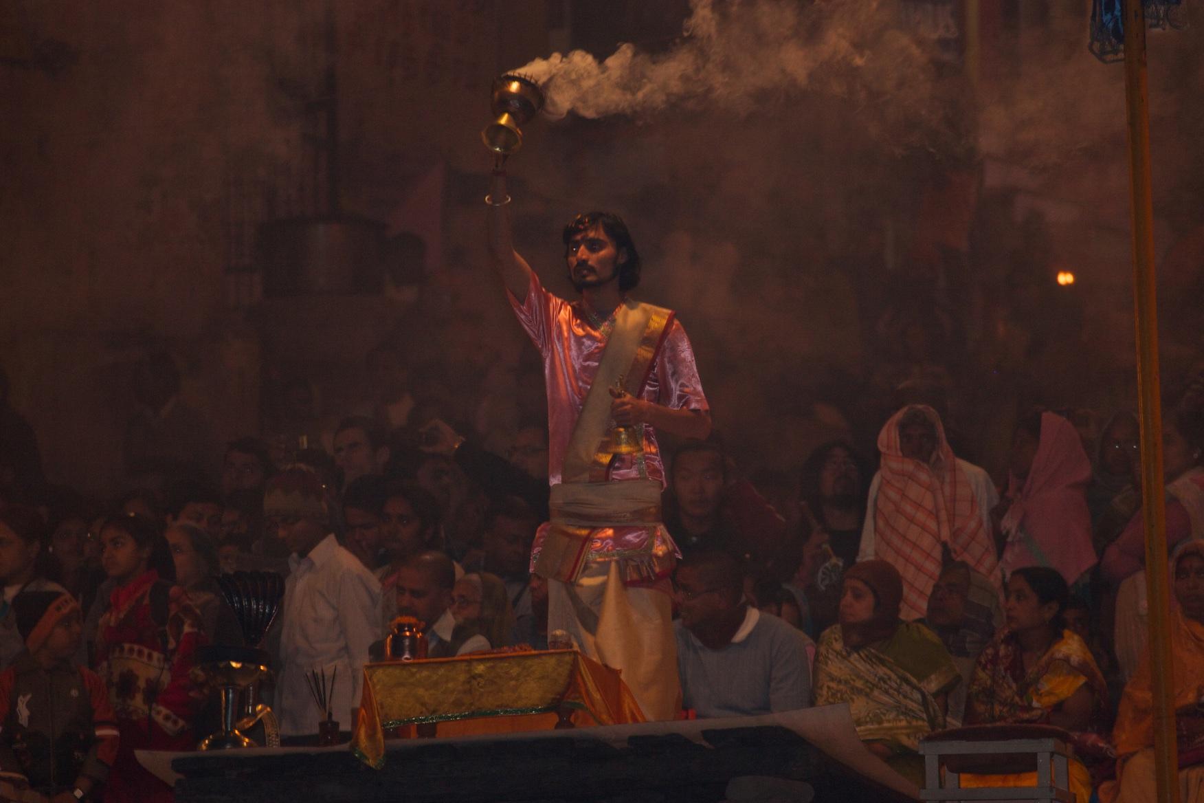Ceremony. Varanasi, India.