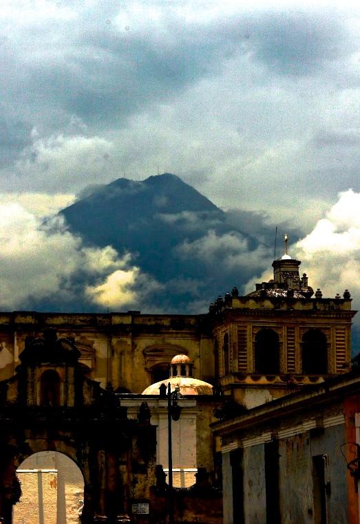 Volcán de Agua. Antigua, Guatemala.
