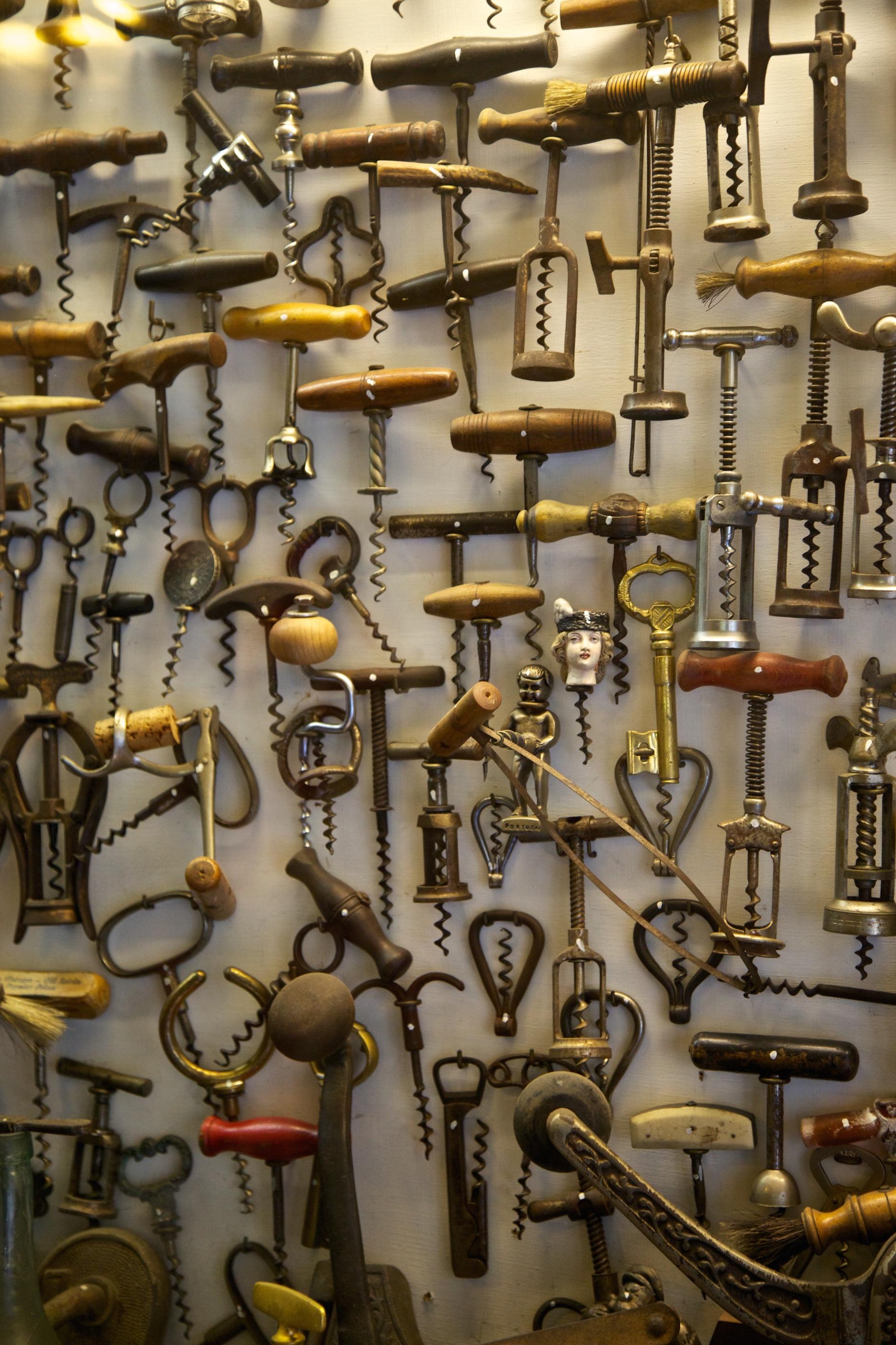 Corkscrews for screwballs.
