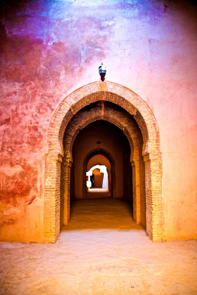 A Roman Empire grain storage. Meknes, Morocco.