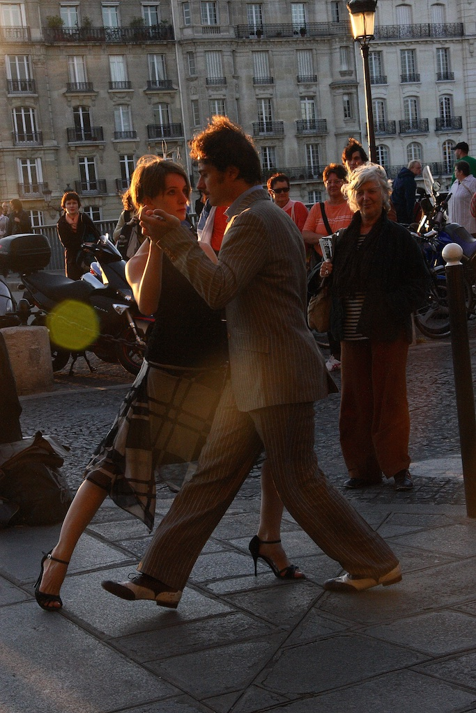 Tango in Paris, France.