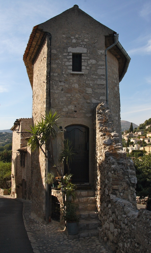 One-window house in Saint Paul-de-Vence, France.