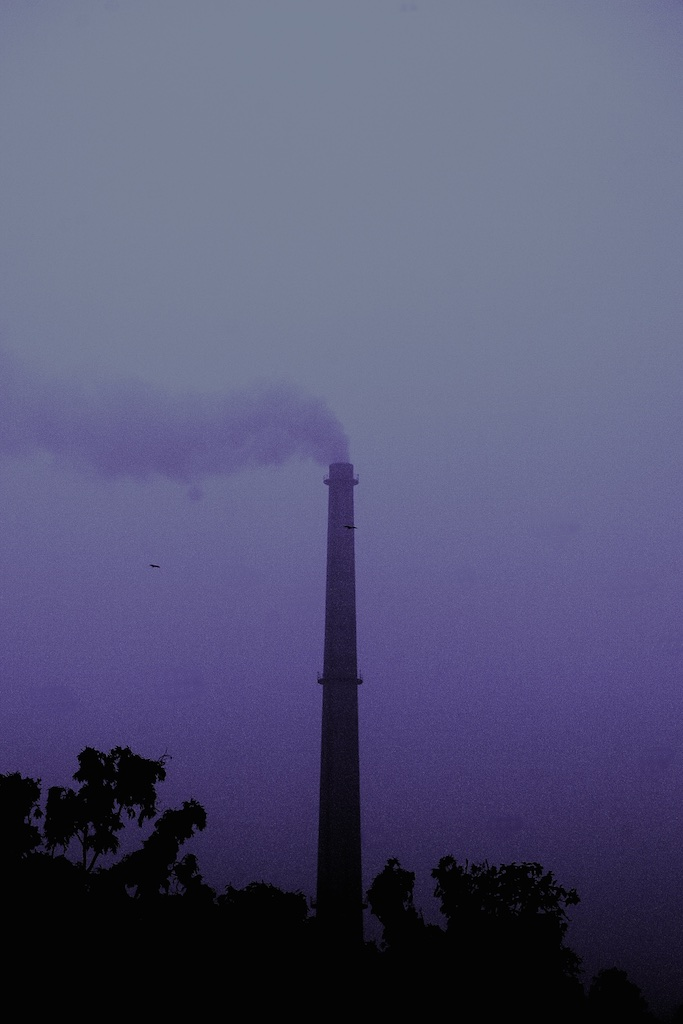 Clouds of contamination. New Delhi, India.