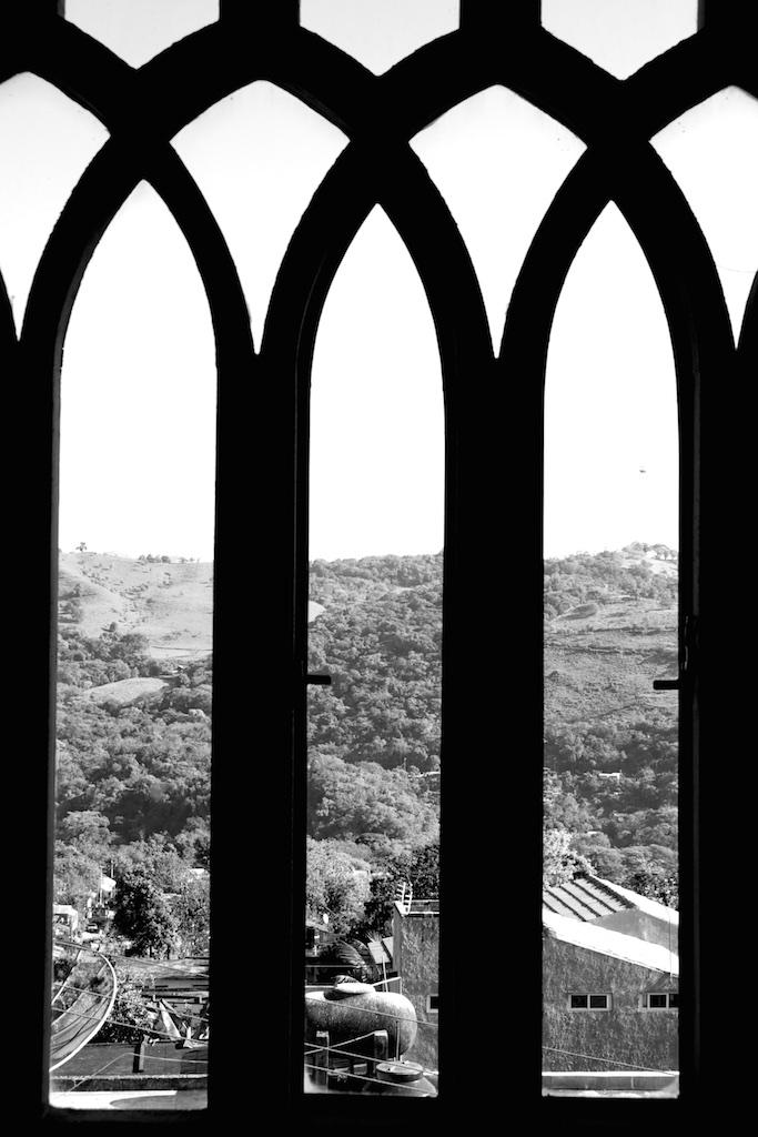 Edward James's bedroom window. Xilitla, Mexico.