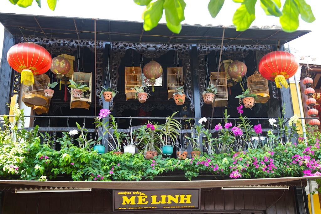 Balcony, Hoi An. Viet Nam.
