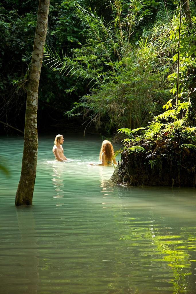 Paradise revisited. Khuang Xi waterfalls, Laos.