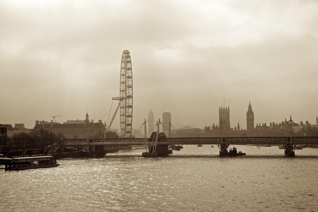 The London Eye, London, United Kingdom.