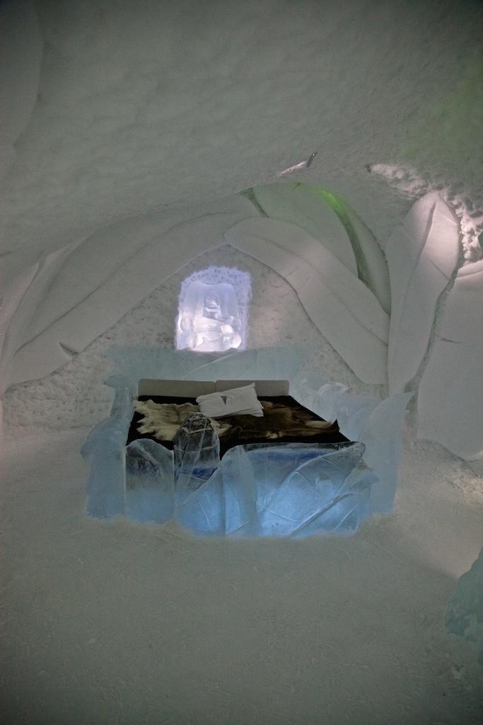 Room 19, Ice Hotel, Jukkasjärvi, Sweden.