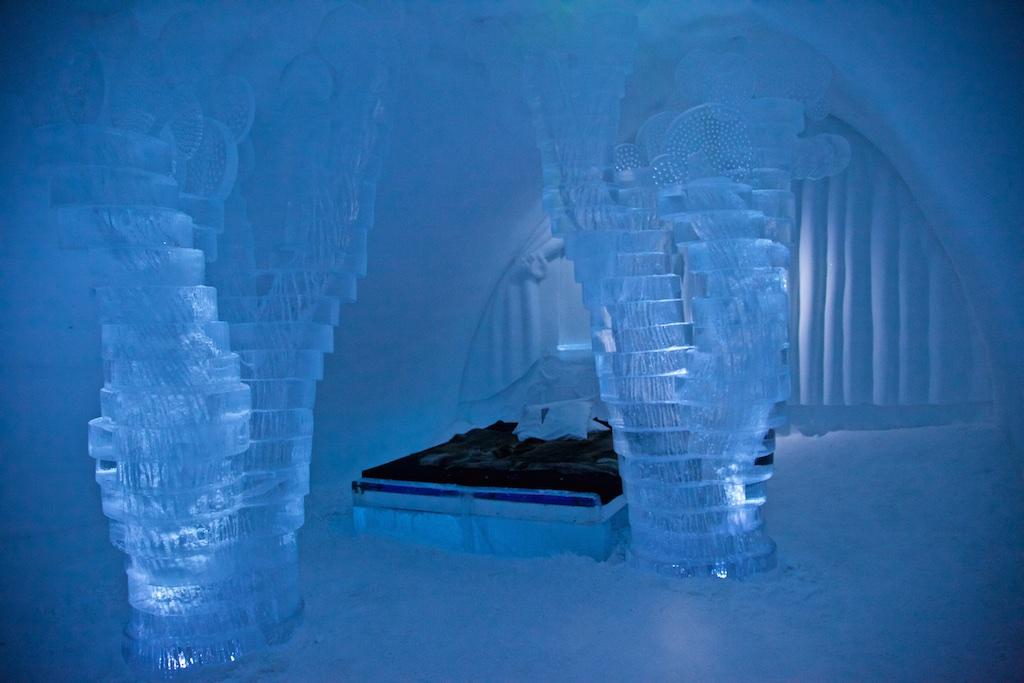 Room 11, Ice Hotel, Jukkasjärvi, Sweden.