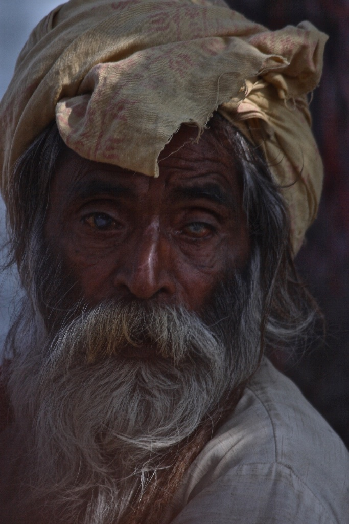 Lost in visions of the past. Orccha, India.