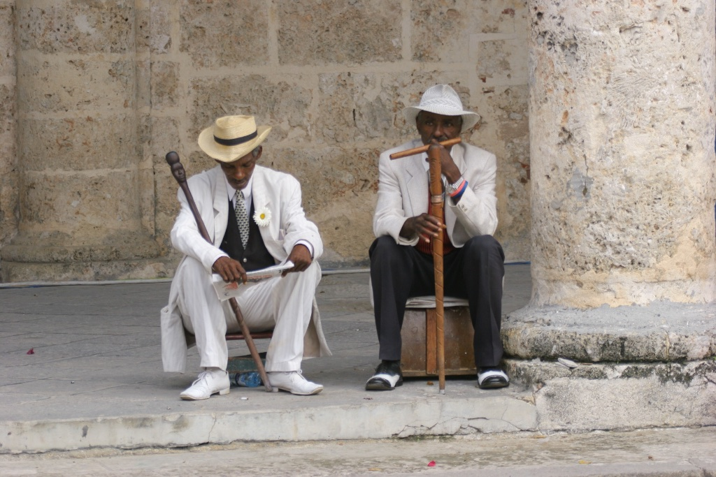 Gentlemen of the old school. Havana, Cuba.