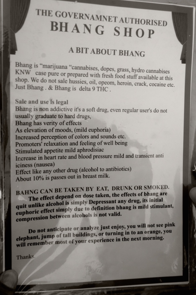 The bhang shop experience that promises to not turn you into an orange.