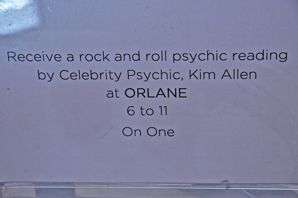 The words of a psychic and musical astrologer.