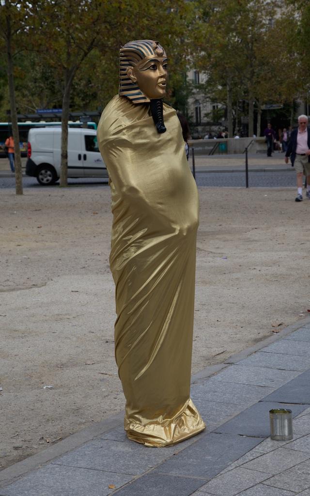 The pharaoh act: Paris, France.
