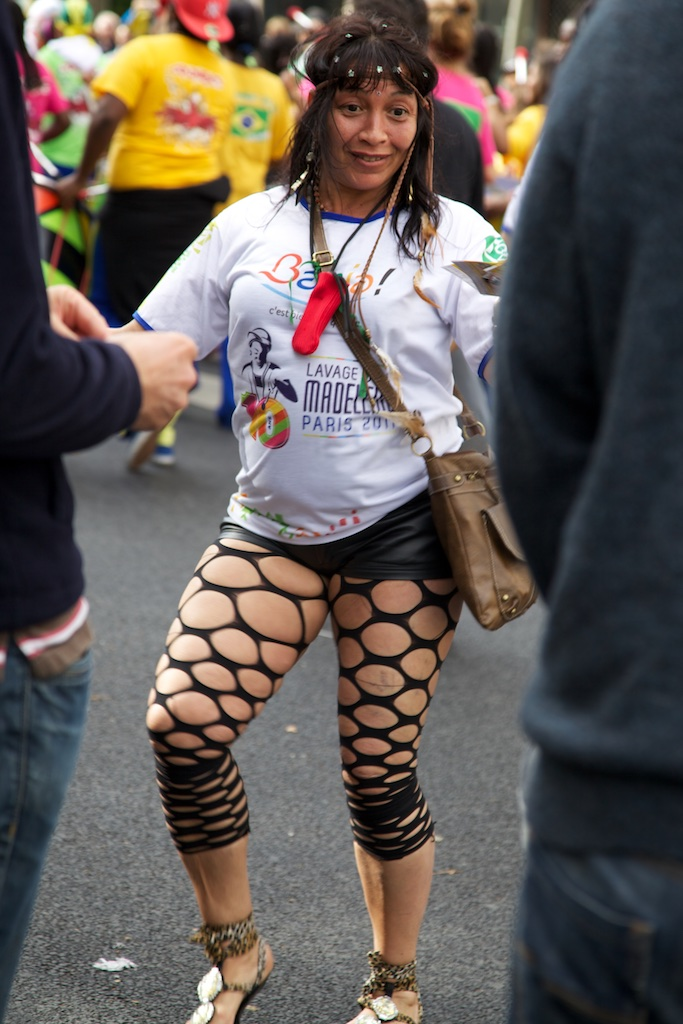 Will rubber fishnet stockings be the next fashion craze?