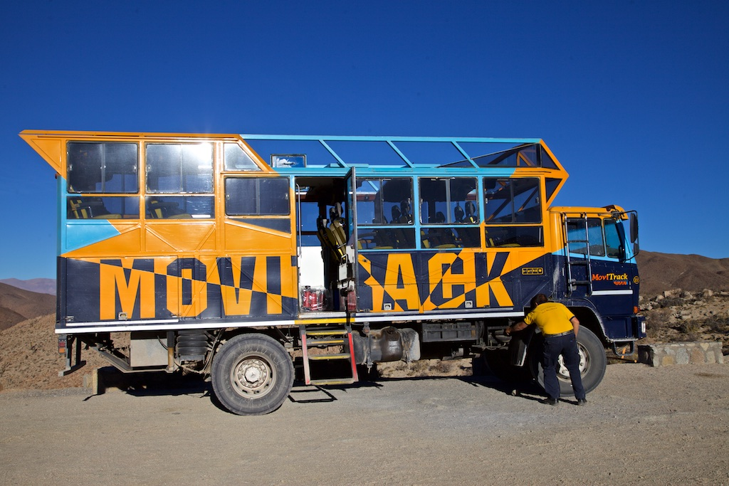 The vehicle to take you from anywhere to everywhere. Argentina, on the border with Bolivia.