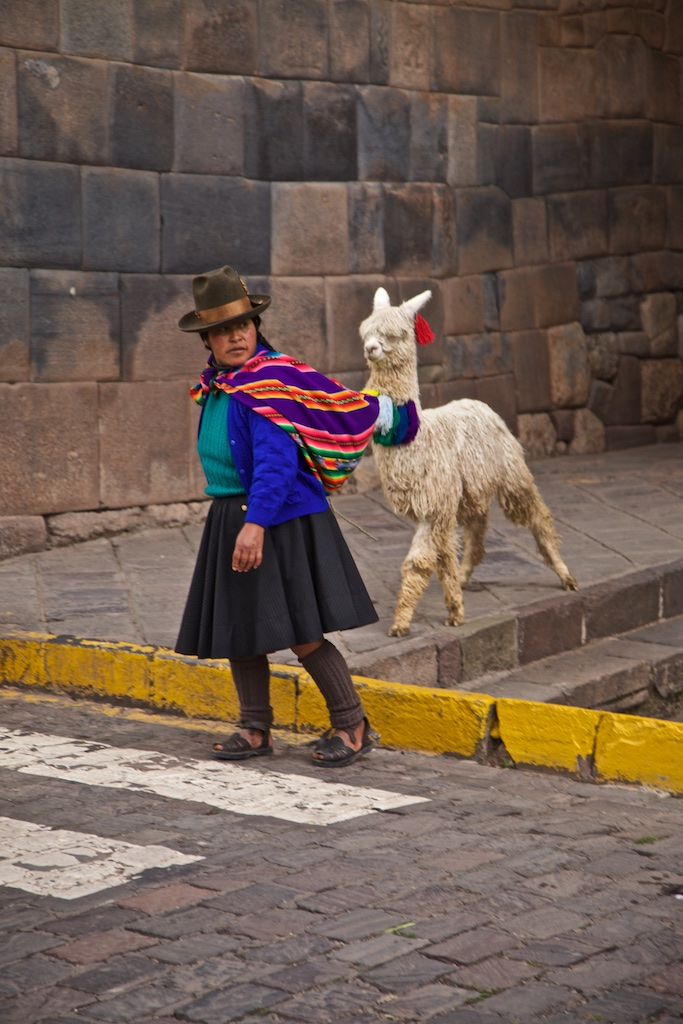 Local population, Cusco, Peru