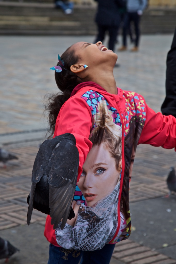 Tickled by the dove, Bogotá, Colombia