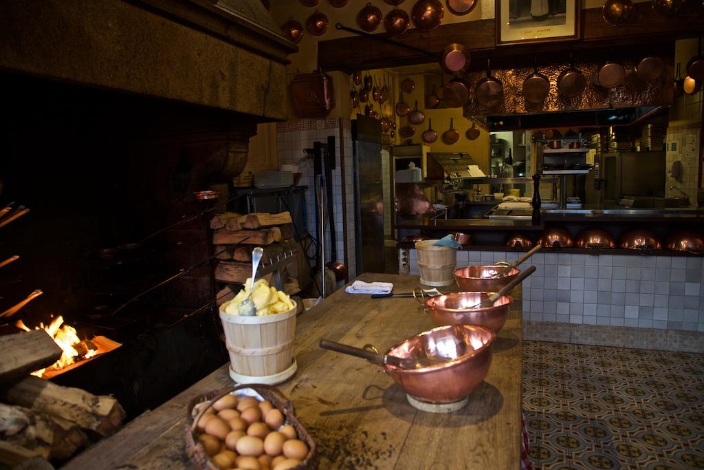 Chez La Mère Poulard, Mont St Michel, France