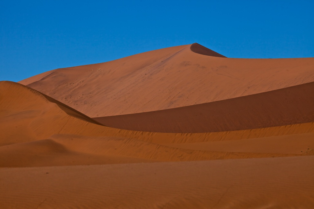 """Big Daddy"", the largest sand dune in world at 385 metres, Namibia"