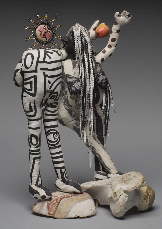 Eve's Rib - soft sculpture