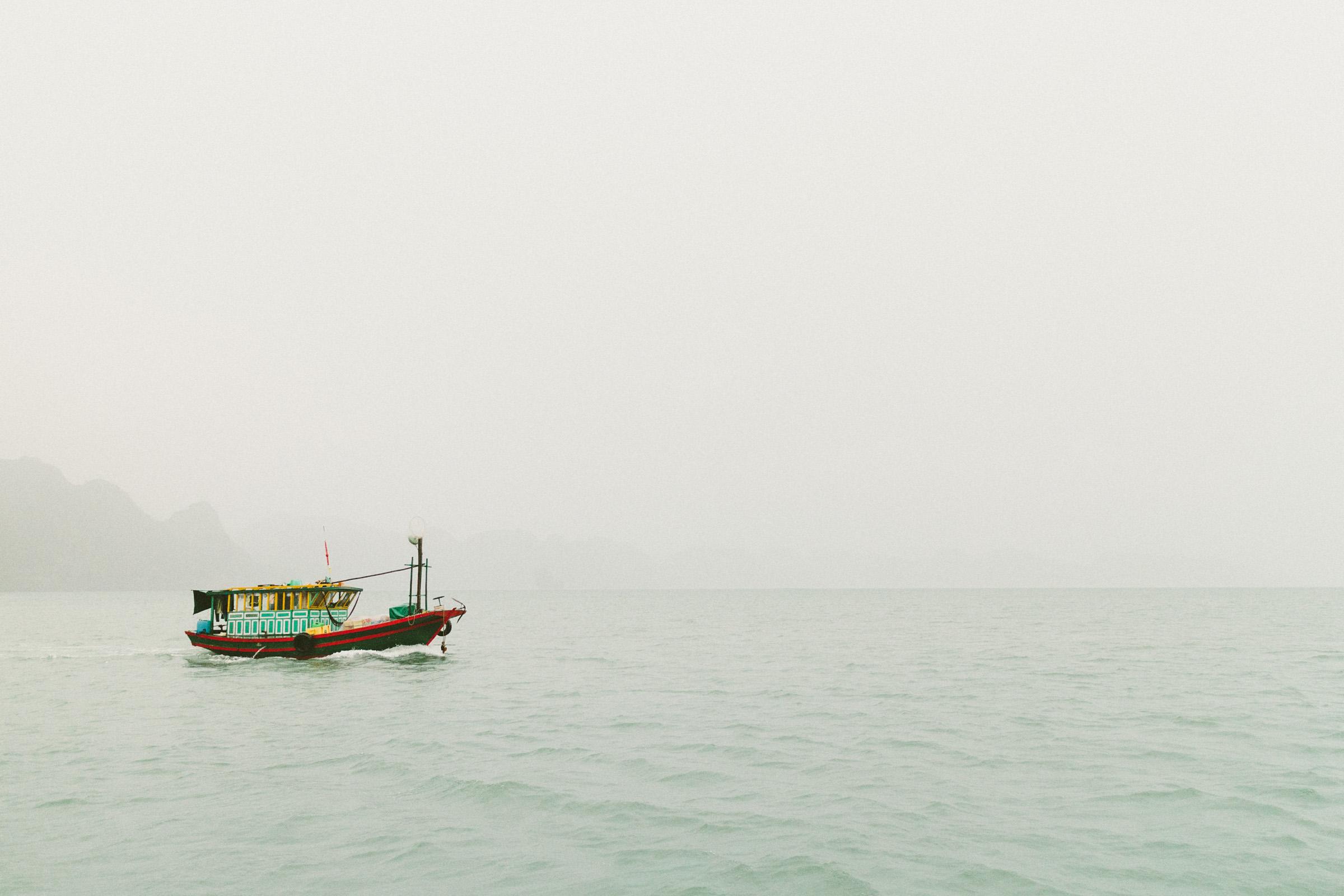 Junk boats in Ha Long Bay, Vietnam | Katch Silva