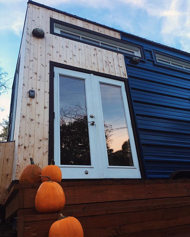 Fall is our favorite!  #NashvilleTinyHouse
