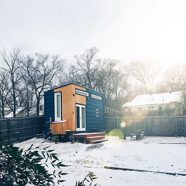 SNOWMG.  #nashvilletinyhouse