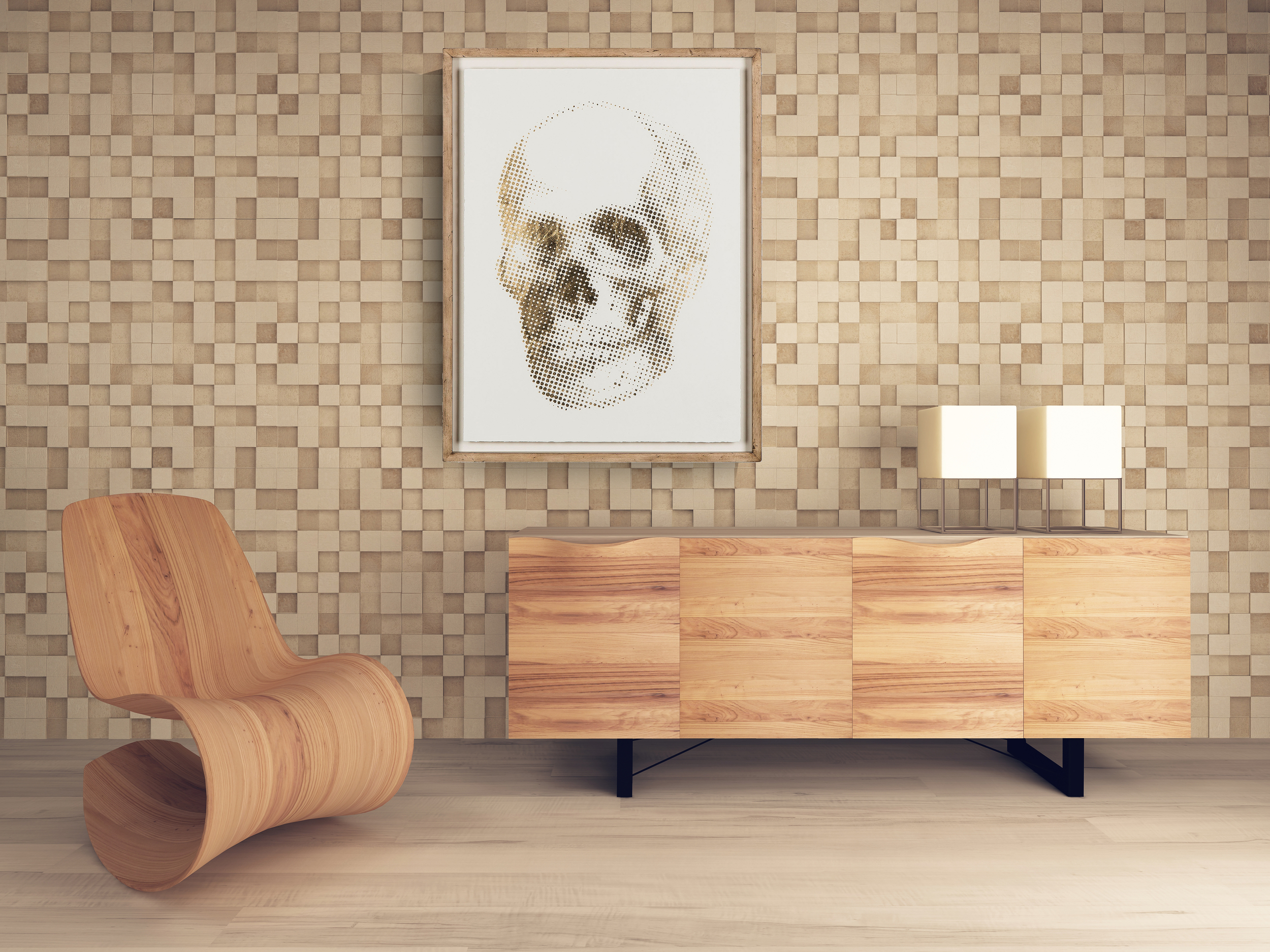 Coup&Co Room with GOLD SKULL.jpg