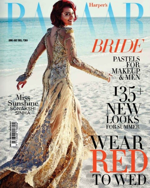 "Harpers Bazaar 2015 ""Written in the Stars ""Melanie & Neeraj Chandra's Wedding Extravaganza"