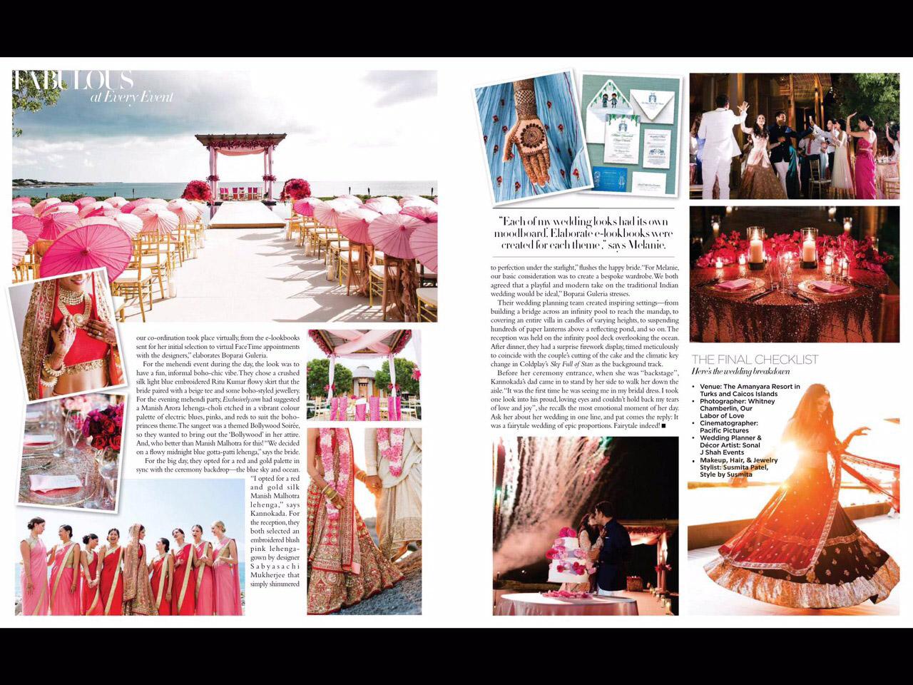 tags: Melanie Chandra wedding | Harpers Bazaar Bride | Melanie Kannokada Wedding | Manish Malhotra | Sabyasachi | Melanie Chandra wedding video