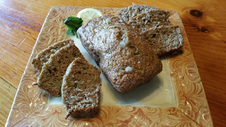 O.A.T. Lemon Zucchini Loaf