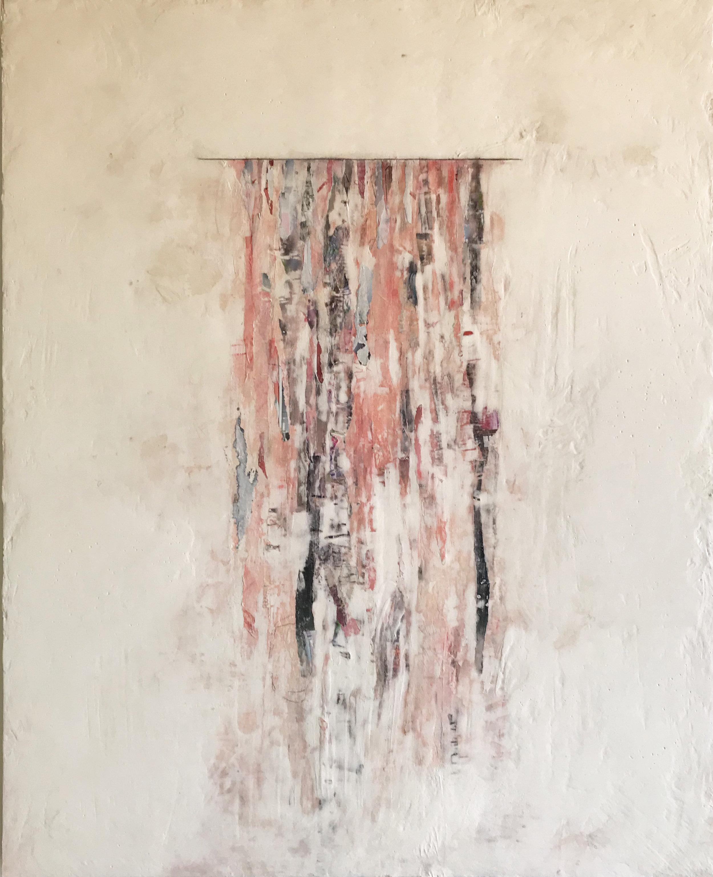 Pink Spill 24x30