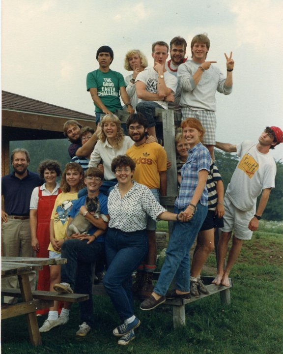 Staff in 1987 -