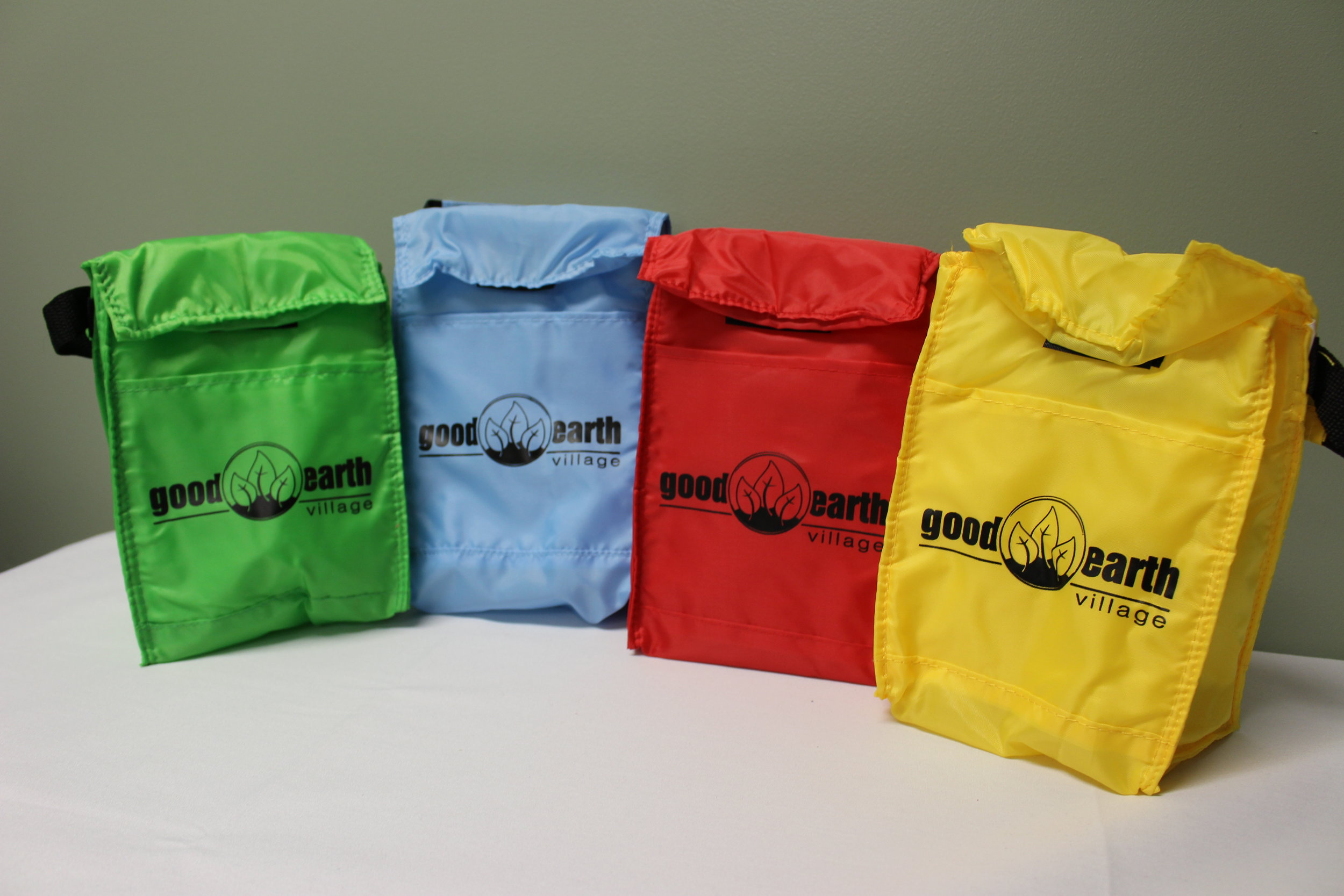 Item:  Insulated Lunch Cooler  Colors:  Green, Carolina Blue, Red, Yellow  Price:  $7