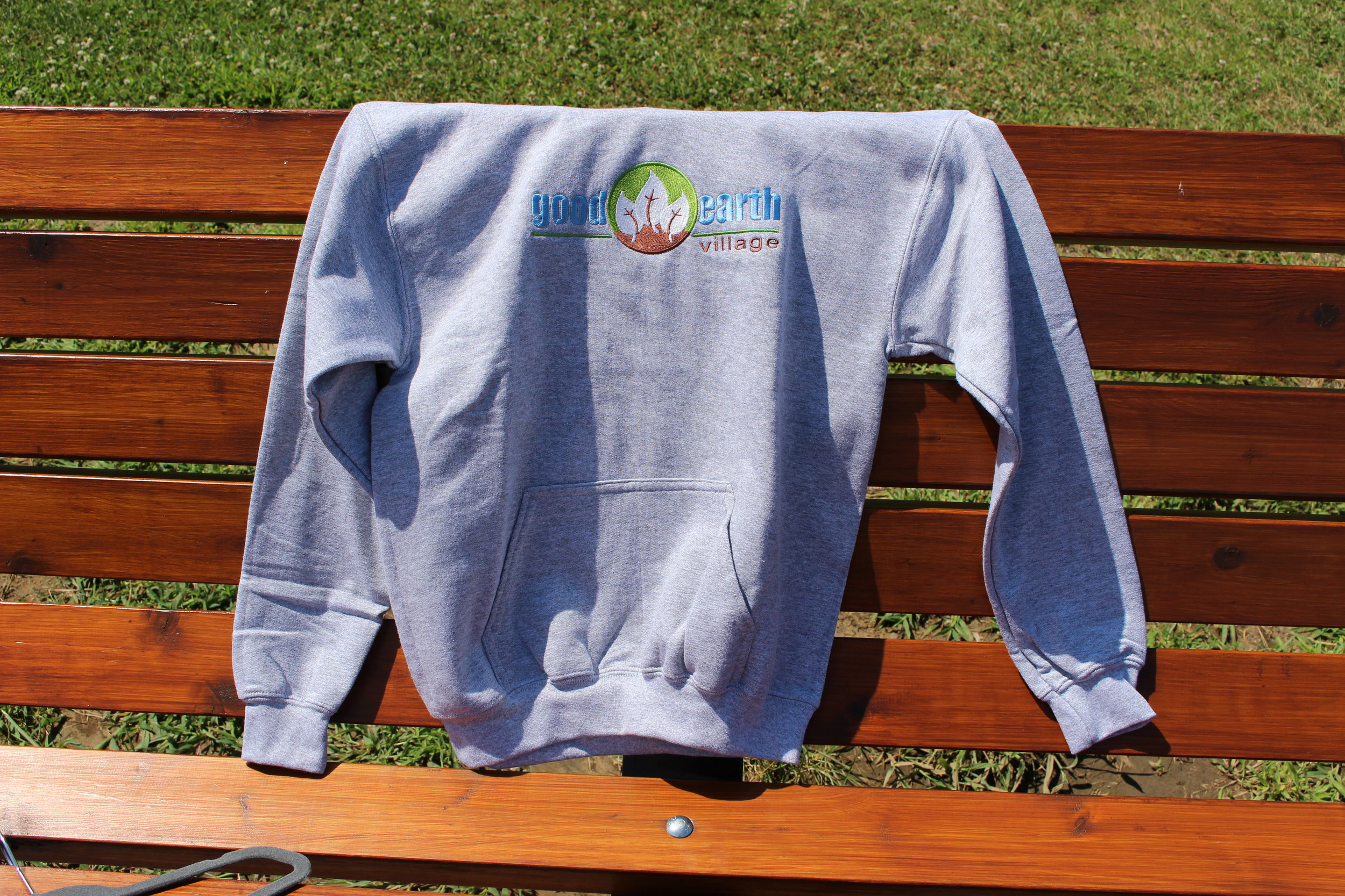 Item:  Hoodie Embroidered Sweatshirt  Sizes:  Youth Small - Youth Large  Price:  $30