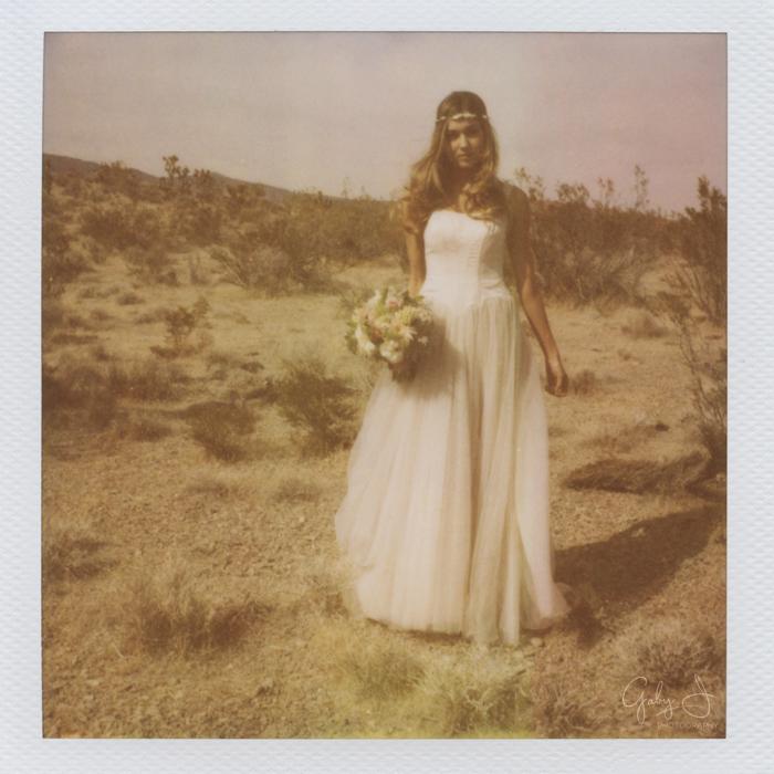 las vegas  inspired shoot polaroid