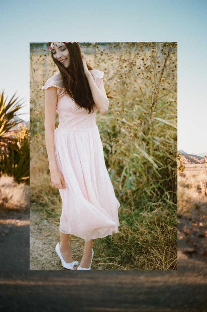 aly pink wedding dress gaby J photography 3