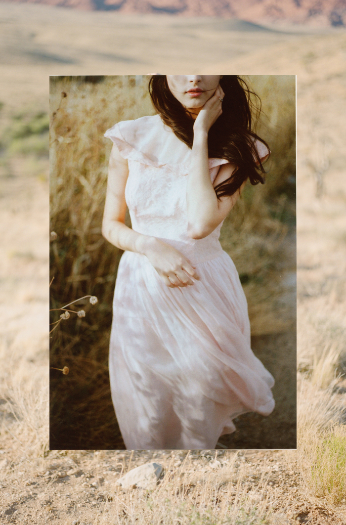 aly pink wedding dress gaby J photography 7