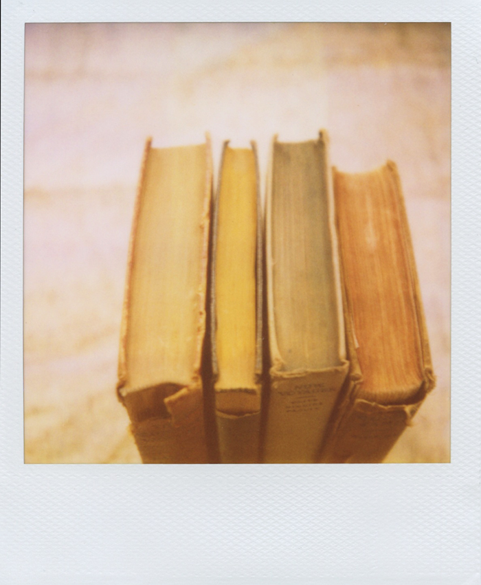gaby j photography vintage books polaroid 06