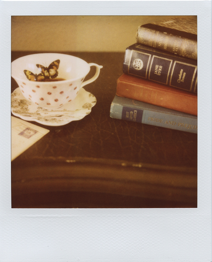 gaby j photography vintage books polaroid 10