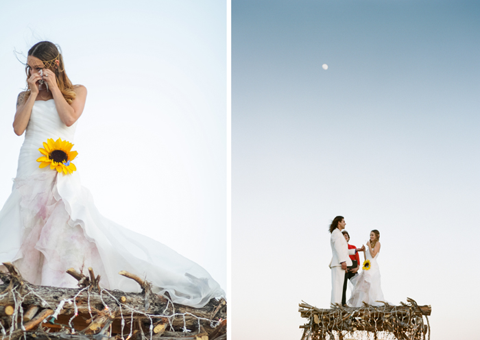 las vegas outdoor ceremony wedding photographer alter ideas