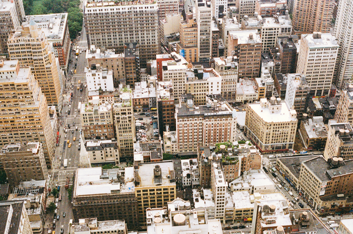 new york from empire state building 2